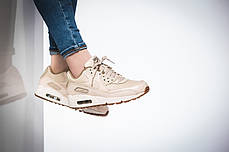 4acad2e9 Женские кроссовки Nike Air Max 90 Premium Oatmeal/Sail/Khaki купить ...
