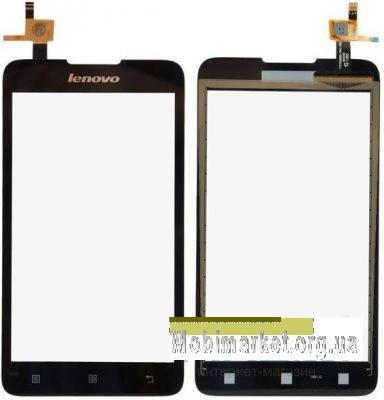 Сенсор (тачскрин) для Lenovo A529 черный, фото 2
