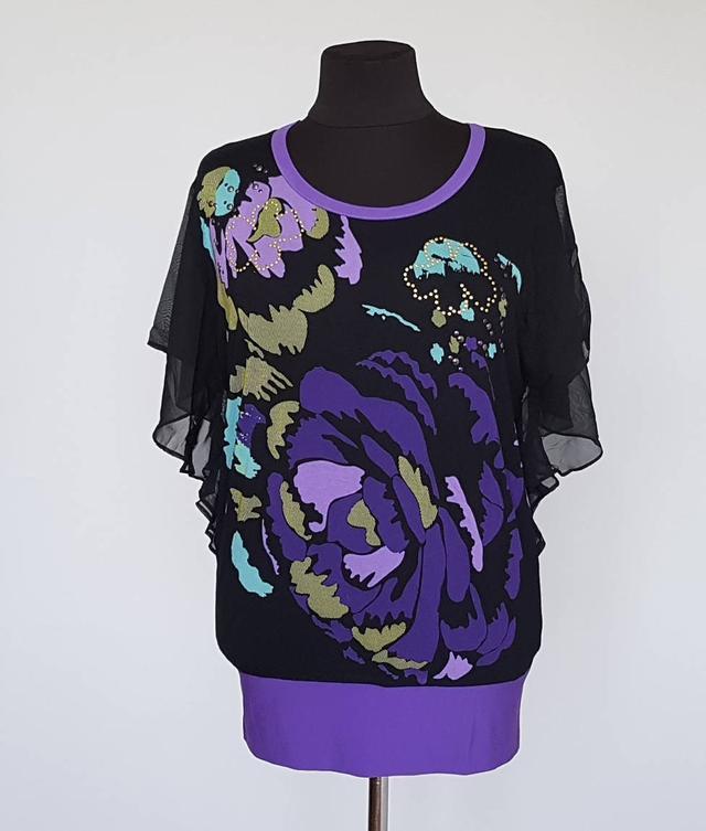 картинка Женская блуза оригинального кроя