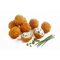 Хрустящие шарики Филадельфия с мягким сыром в панировке