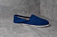 TOMS эспадрильи Dark blue