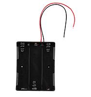 Корпус чехол для батареек 18650 на 3 батарейки