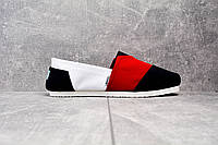 TOMS эспадрильи Red and white