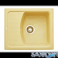 Granitika Cube Bevel CB585020 Беж Гранитная кухонная мойка 580х500