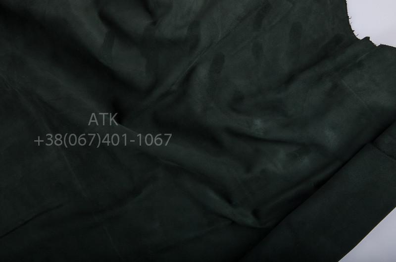 eae1c2e16718 Замша одежная темно-зеленая, цена 1 395 грн./кв.м, купить в Киеве — Prom.ua  (ID#124777368)