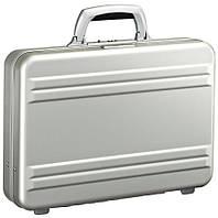 Мужской малый алюминиевый кейс Zero Halliburton Slimline CSE3-SI серебристый