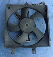 Вентилятор основного радиатора 5 лопасти 2 пина комплект с диффузоромNissanPrimera P11 2.0 16V 1996-2002ET