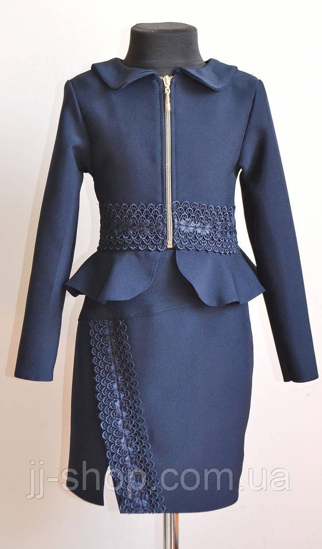 школьная форма для девочки пиджак и юбка