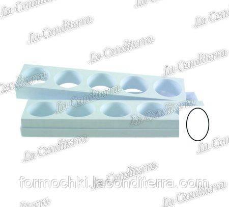 Пластикова форма для овальних тістечок MARTELLATO (10 шт.)