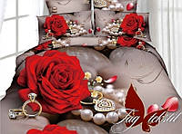 Комплект постельного белья 2-спальный ТМ TAG  MS-CY16070