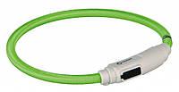 Ошейник Trixie USB Flash Light Ring для кошек нейлоновый, светящийся, 35 см, фото 1