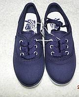 Мокасины Childrens Place,синие,размер youth 12,детская обувь,кеды,спортивная обувь