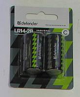Бат DEFENDER LR14-2B С blister 2 pcs.