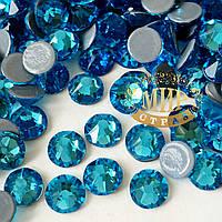 Стразы Xirius Crystals (Hotfix), цвет Aquamarine ss20 (4.6-4.8mm), 100шт