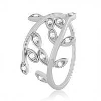 Серебряное кольцо с фианитом К2Ф/369 - 19
