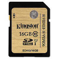 Карта пам'яті SDHC Kingston 16Gb class 10 Kingston UHS-I Ultimate Black