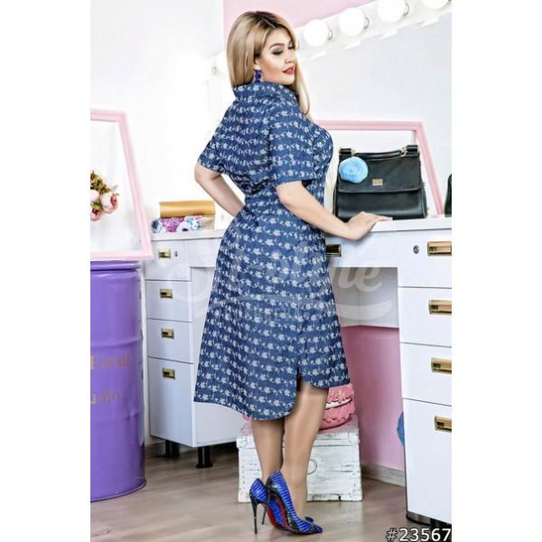 9e523d75357 Летнее модное джинсовое платье 50-56 р-ры
