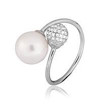 Серебряное кольцо с фианитом К2ФЖ/808 - 19