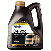 Синтетическое моторное масло Mobil DELVAC XHP EXTRA 10W40 4L