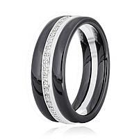 Серебряное кольцо керамическое К2ФК/1005 - 19