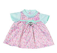 Одежда для куклы Baby Annabell Беби Анабель летнее платье бирюзово-розовое Zapf Creation 794531