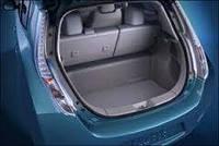 Nissan Leaf коврик в багажник оригинал nissan черный