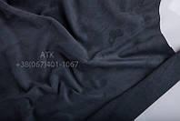 Замша одежная темно серый