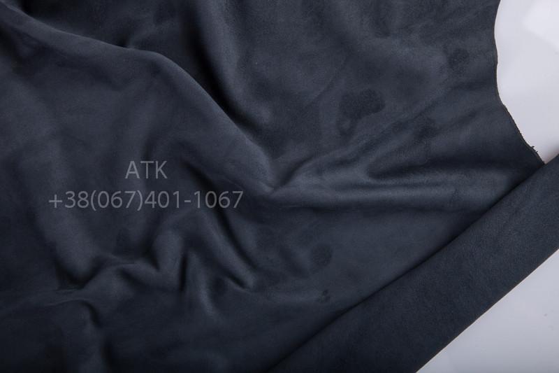 Замша одежная темно серый - АТК в Киеве