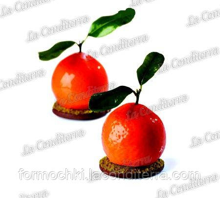 Силиконовая форма для десертов PAVONI PX4332 Mandarino Tangerine