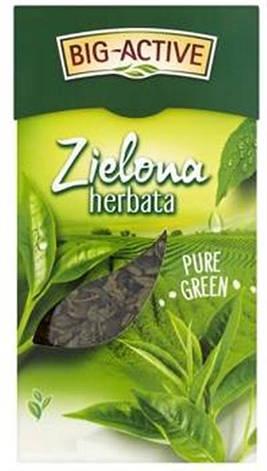 Чай зеленый Big-Active Zielona Herbata, 100 г (Польша), фото 2