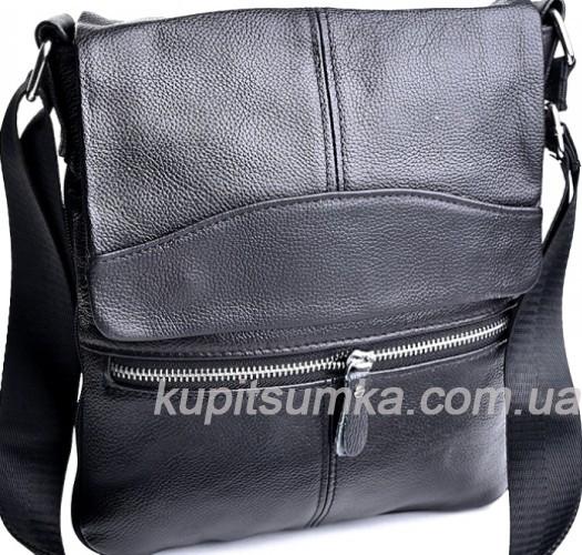 416760f32c7f Мужская сумка из натуральной кожи чёрного цвета: продажа, цена в ...