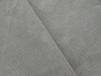 Серая льняная ткань , цвет 330