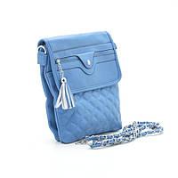 Женская сумка через плечо Fashion 6853 blue синий