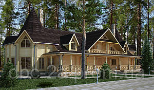 Проект гостиницы, гостиница Карпатская жемчужина 752м2
