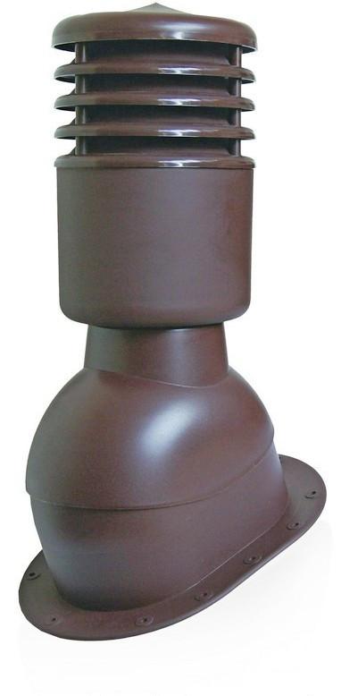 Вентвыход утепленный Kronoplast KPIO для битумной черепицы и плоской кровли с колпаком
