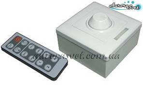1 - канальний Aurorasvet-DIMER 8А (12 кнопок). Управління світлом. Для стрічок LED.
