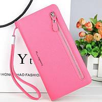 Клатч гаманець Baellerry жіночий 201502_Rose рожевий