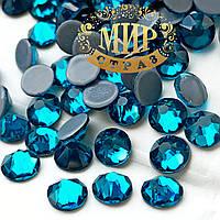 Стразики Xirius Crystals, цвет Blue Zircon ss20 термо (4.6-4.8mm), 100шт