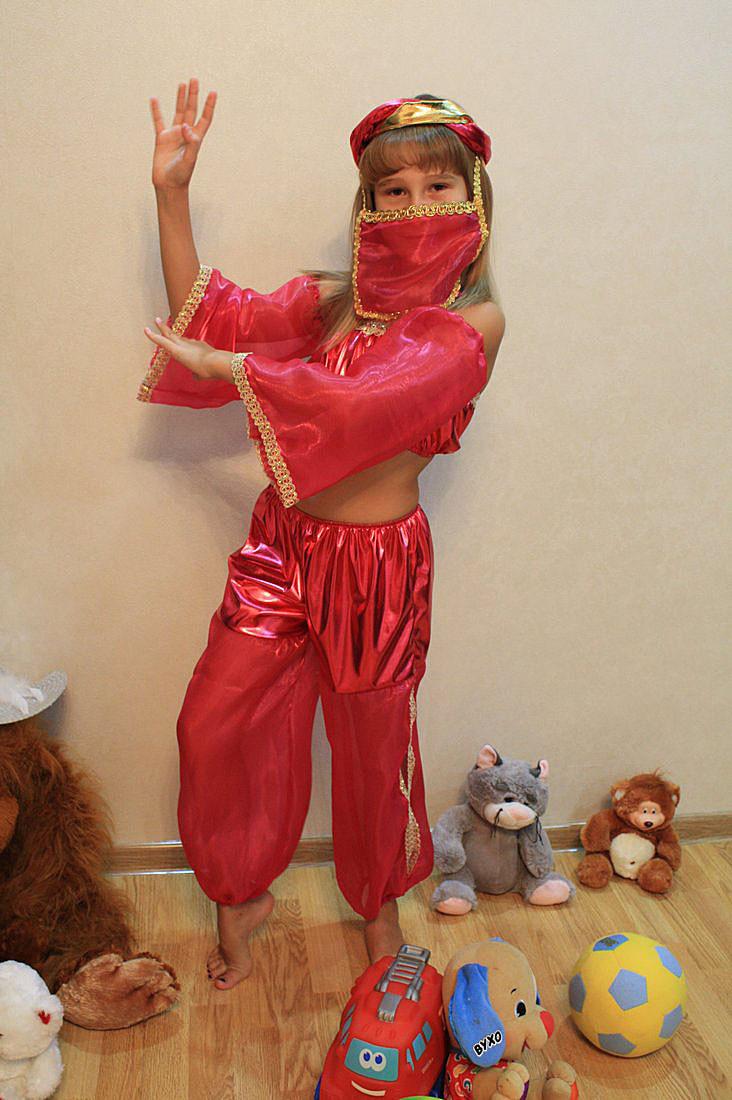 Карнавальный детский костюм восточной красавицы