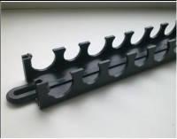 Планка (шина) для монтажу труб теплої підлоги 50см
