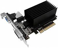 Видеокарта GeForce GT730, Palit, 1Gb DDR3, 64-bit, VGA/DVI/HDMI, 902/1800MHz, Low Profile, Silent (NEAT730NHD06-2080H)