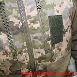 Тактическая флисовая кофта под погон укр. пиксель, фото 3