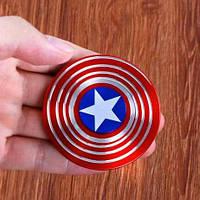 Спиннер Капитан Америка Captain America Shield Hand spinner, finger spinner Игрушка Антистресс