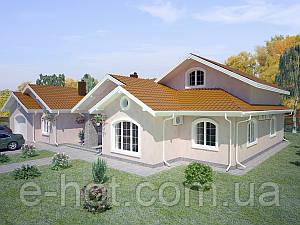 Проекты домов, Дом Безрадичи 420м2