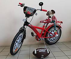 Детский двухколёсный  велосипед Тачки Макквин