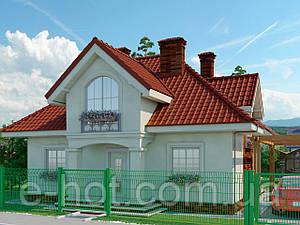 Проект дома, Дом белая акация 133м2