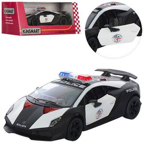 """Машинка Kinsmart KT 5359 WP """"Lamborghini Sesto Elemento (Police)"""", 12 см (Y), фото 2"""