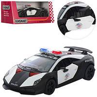"""Машинка Kinsmart KT 5359 WP """"Lamborghini Sesto Elemento (Police)"""", 12 см (Y)"""