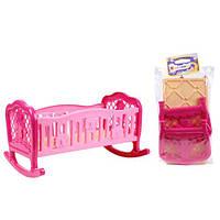 Кроватка для куклы 4531, 45х34х27 см
