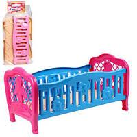 Кроватка для куклы 4517, 45х26,5х24 см